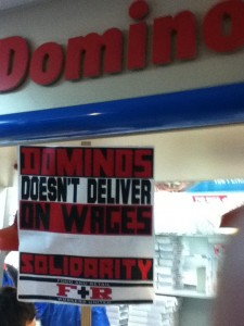 WSA Joins in International Day of Solidarity With Domino's ...