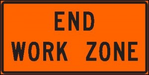 End Work Zone