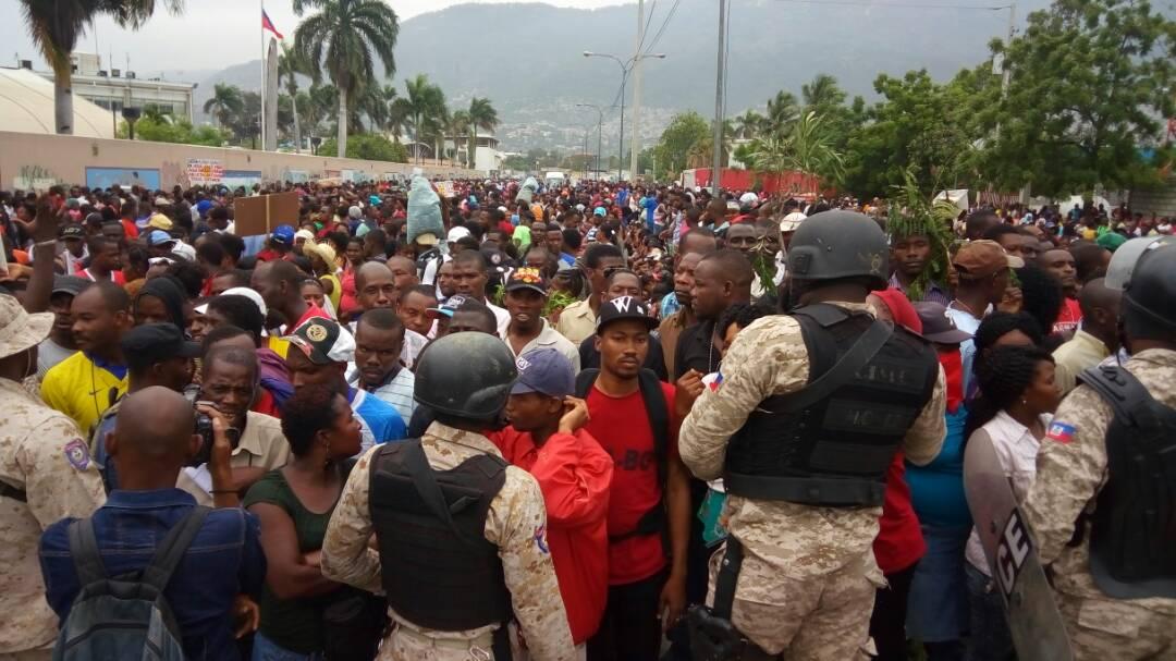 Haiti: Textilarbeiter*innen-Streik Mai 2017